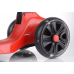 Складной трёхколёсный самокат Scooter Maxi Micar Ultra Красный со светящимися колёсами